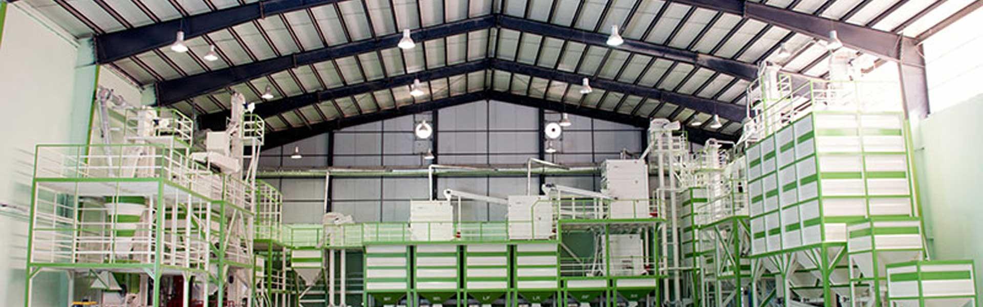 نمای داخلی کارخانه